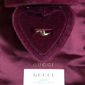 Gucci Jewelry - Gucci Running GG Ring In Yellow Gold size 6.25